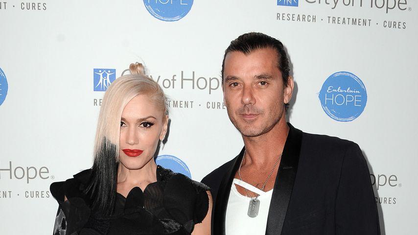 Gwen Stefani und Gavin Rosdale, 2014