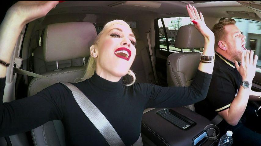 Gwen Stefani und James Corden