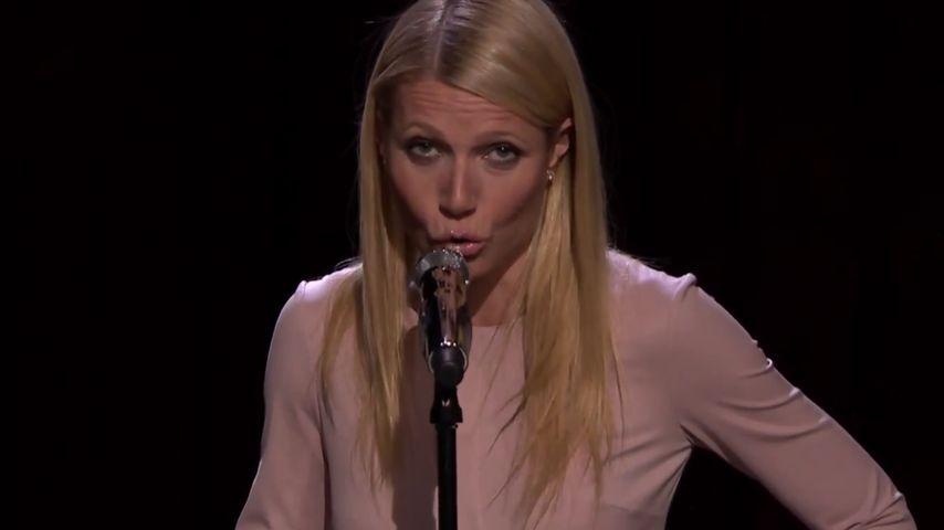 """Hammer-Show: Hier """"rappt"""" Gangster-Gwyneth Paltrow"""