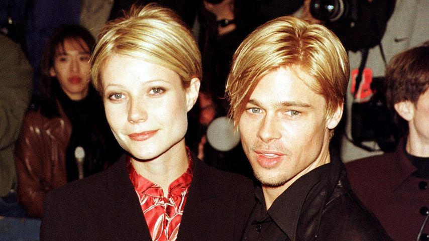 Gwyneth Paltrow und Brad Pitt 1997 in New York