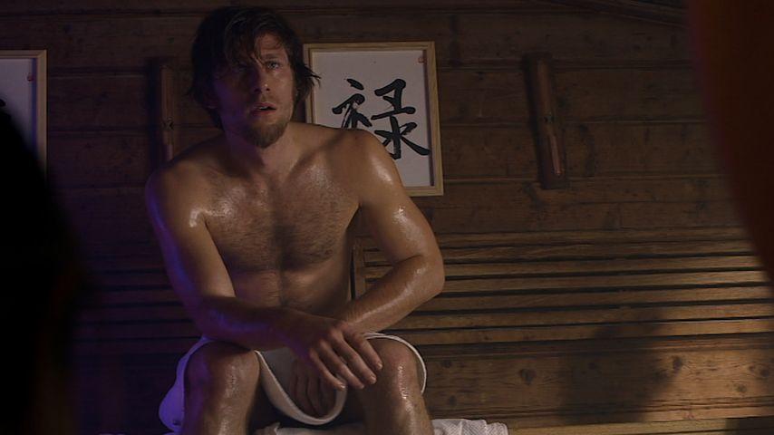 Sauna-Action: Merlin & Ulrike fast nackt bei GZSZ