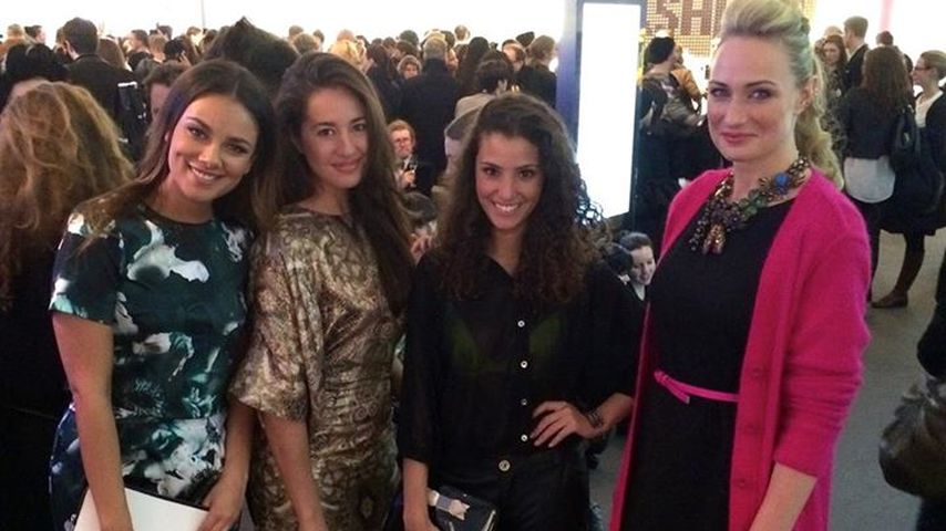 Janina Uhse & Co.: GZSZ-Girls auf der Fashion-Week