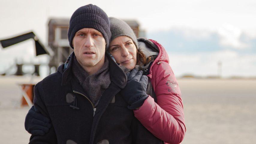"""Merlin Leonhardt als Till Kuhn (""""Bommel"""") und Ulrike Frank als Katrin Flemming"""