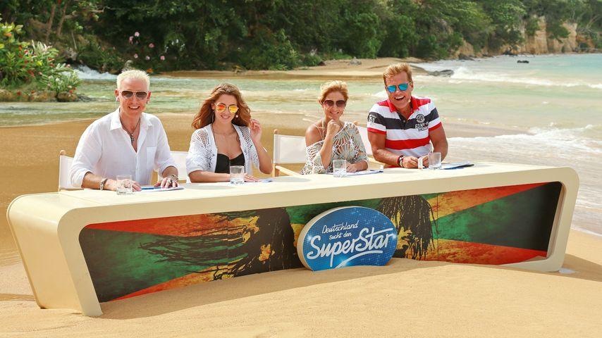 Die DSDS-Jury der 13. Staffel beim Recall auf Jamaika