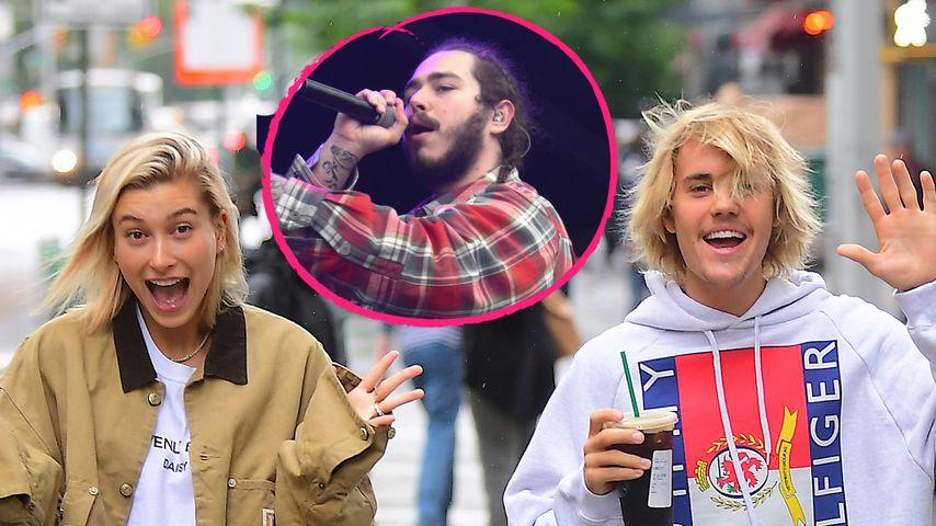 Rapper Post Malone will auf Justins Hochzeit singen!