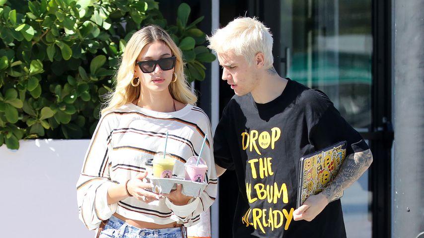 Hailey Bieber und Justin Bieber, November 2019