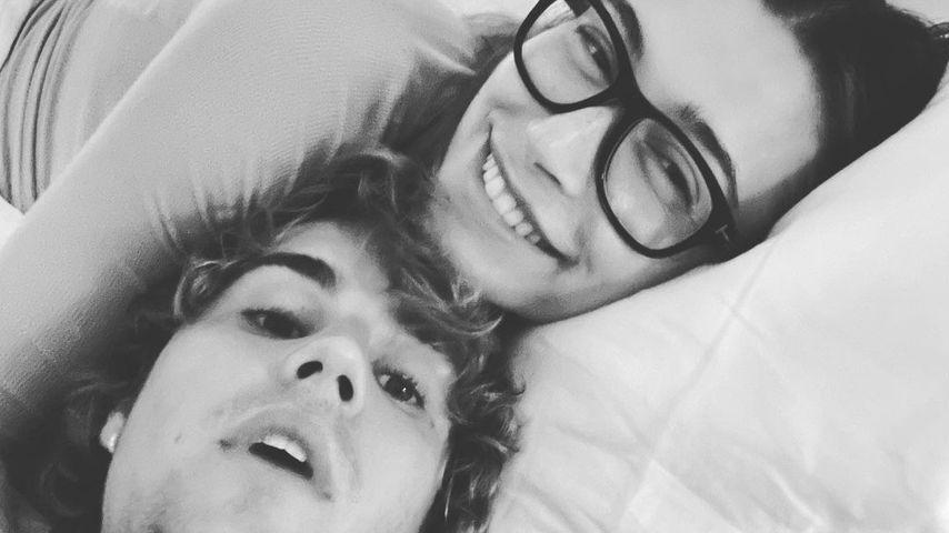 Hailey und Justin Bieber im Dezember 2020