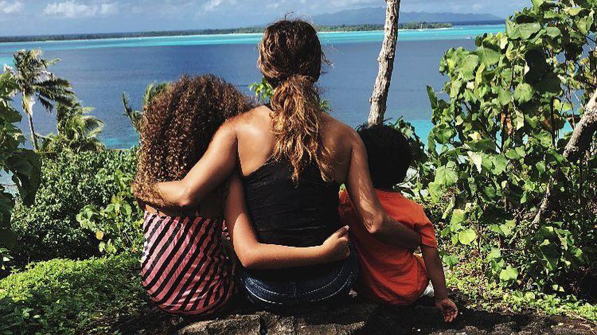 Nahla Aubry, Halle Berry und Maceo Martinez im Urlaub auf Bora-Bora, 2018