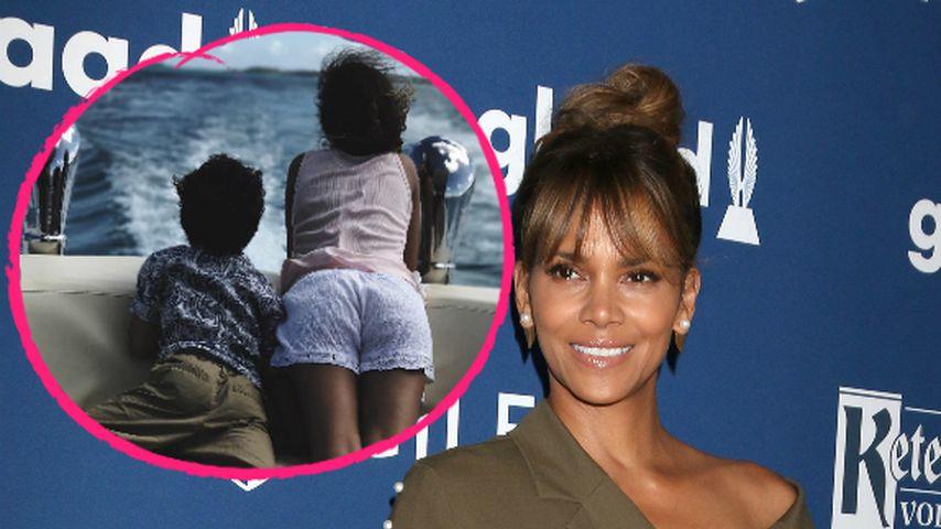 Halle Berry: Seltene Schnappschüsse von ihren beiden Kids!