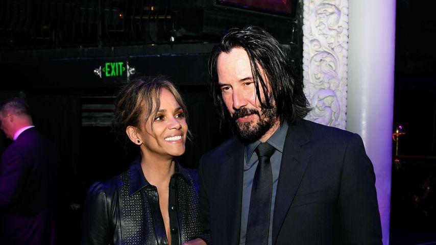 Sind Halle Berry und Keanu Reeves tatsächlich ein Paar?