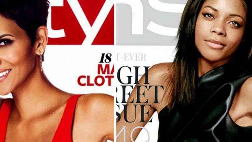 Cover-Bond-Girls: Halle Berry vs. Naomie Harris