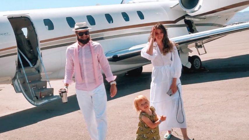 Hana Nitsche und ihre Familie im Juni 2020 in Los Angeles