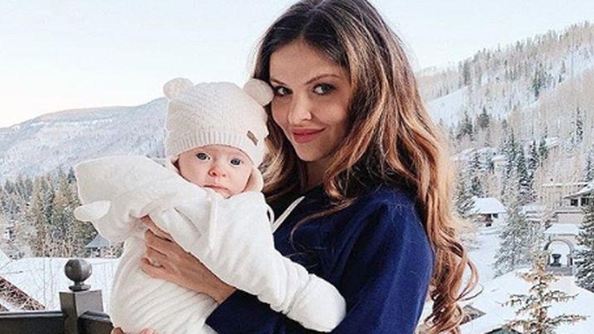 Kleiner Schneebär: Hana Nitsche zeigt ihr süßes Töchterchen!
