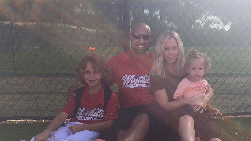 Hank Baskett und Kendra Wilkinson mit ihren beiden Kindern Hank und Alijah