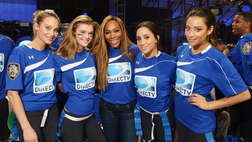 Hannah Davis, Nina Agdal, Serena Williams, Meghan Markle und Shay Mitchell