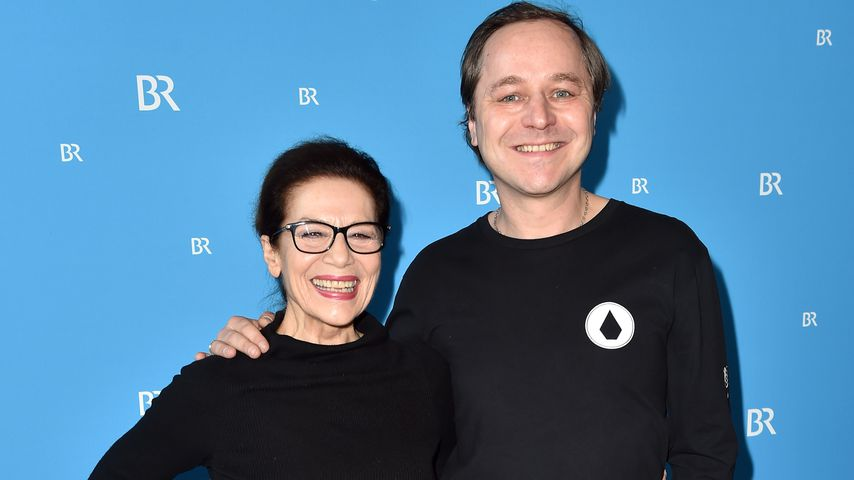 Hannelore Elsner und Thomas Schmauser in München 2018