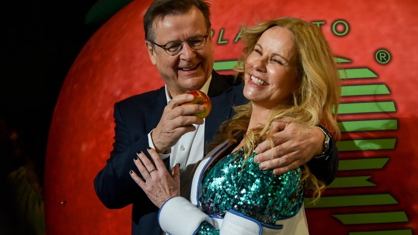 Hans Mahr und Katja Burkard bei der Place To B Berlinale-Party