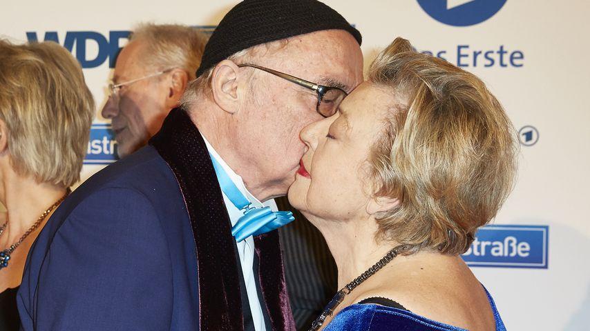 Hans W. Geißendörfer und Marie-Luise Marjan