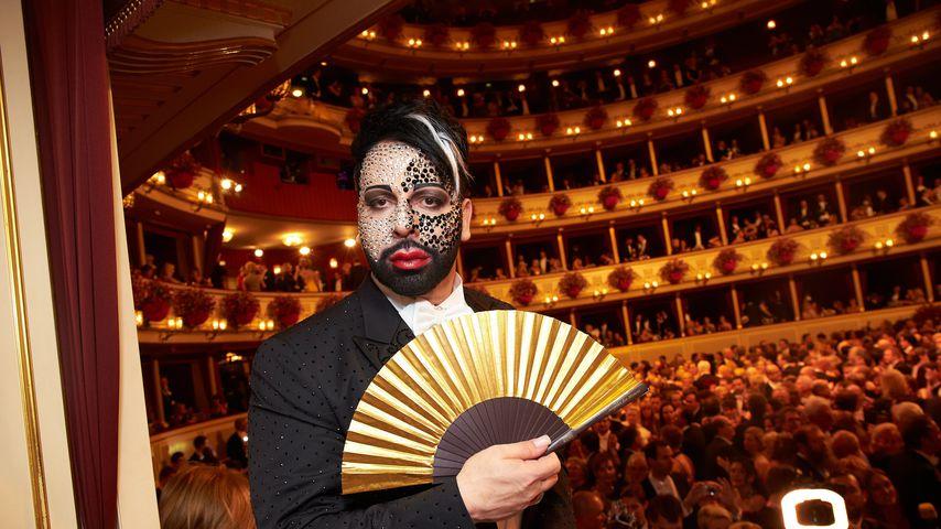 Harald Glööckler beim Wiener Opernball 2013
