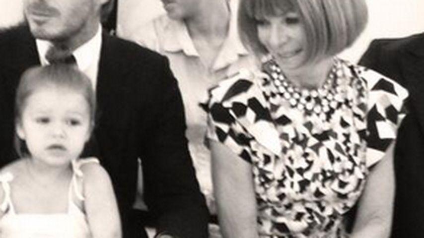 Harper Seven, David Beckham und Anna Wintour