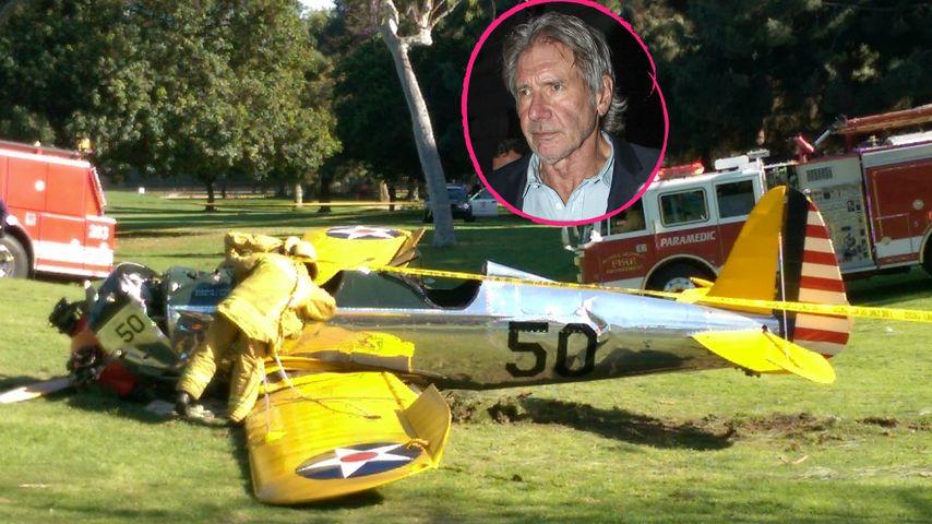 Ursache geklärt: So kam es zu Harrison Fords Flugzeug-Crash!