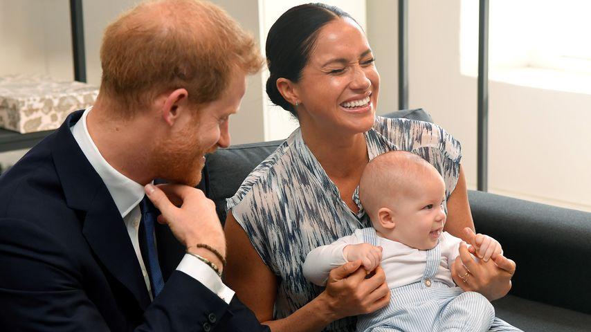 Prinz Harry, Herzogin Meghan und Archie, September 2019
