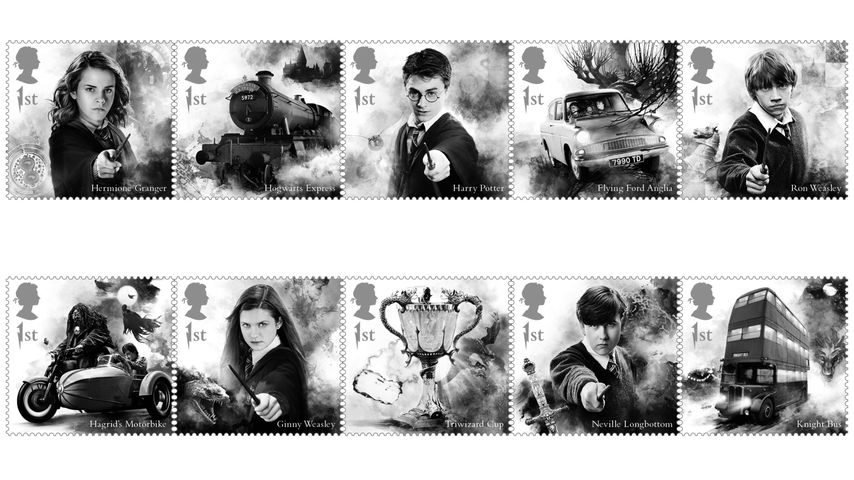 """Harry Potter""-Briefmarken 2018"