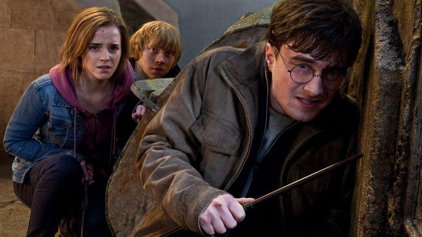 """Emma Watson, Daniel Radcliffe und Rupert Grint im letzten """"Harry Potter""""-Teil"""