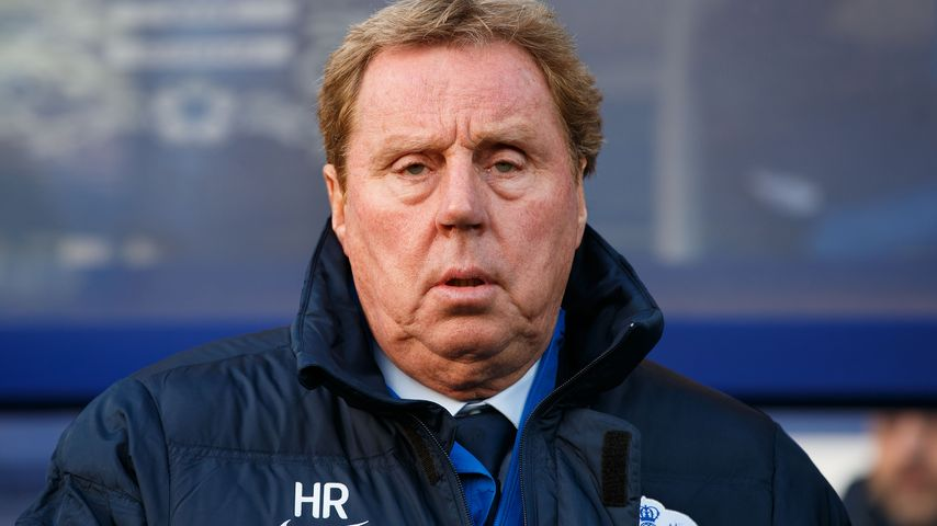 Fußballtrainer Harry Redknapp
