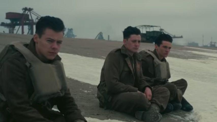 """Harry Styles (l.) in """"Dunkirk"""""""