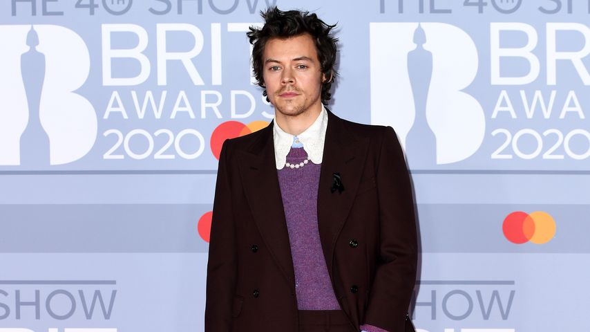Harry Styles bei den Brit Awards in London im Februar 2020