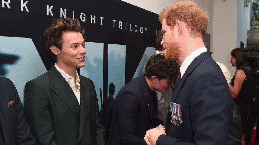 """Harry Styles und Prinz Harry auf der """"Dunkirk""""-Premiere in London"""