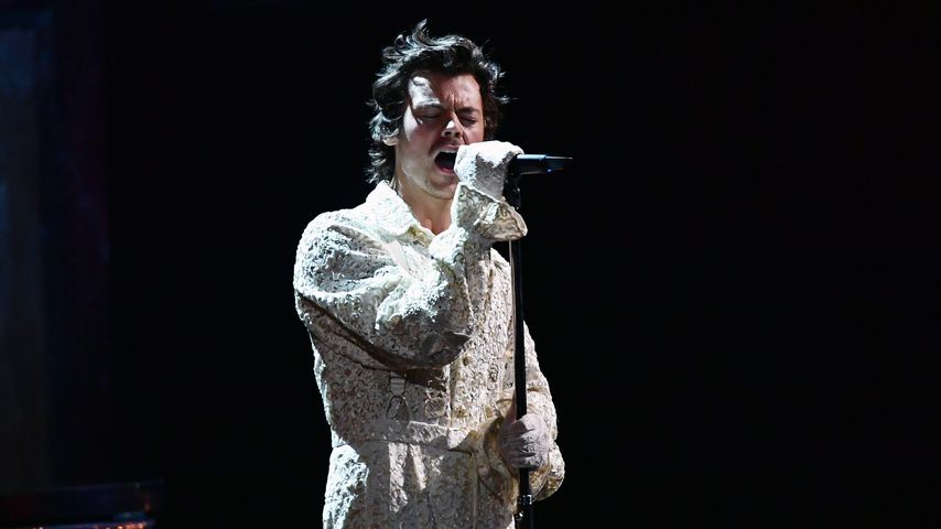 Harry Styles während der BRIT Awards im Februar 2020 in London