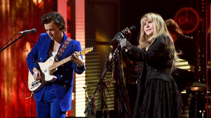 Harry Styles und Stevie Nicks im März 2019