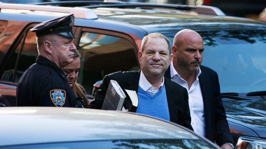 Harvey Weinstein in New York City