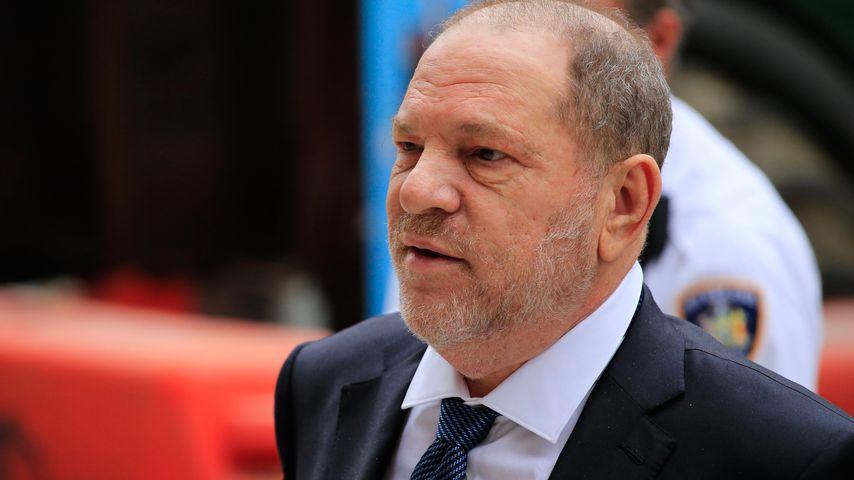 Harvey Weinstein vor einer Anhörung in New York