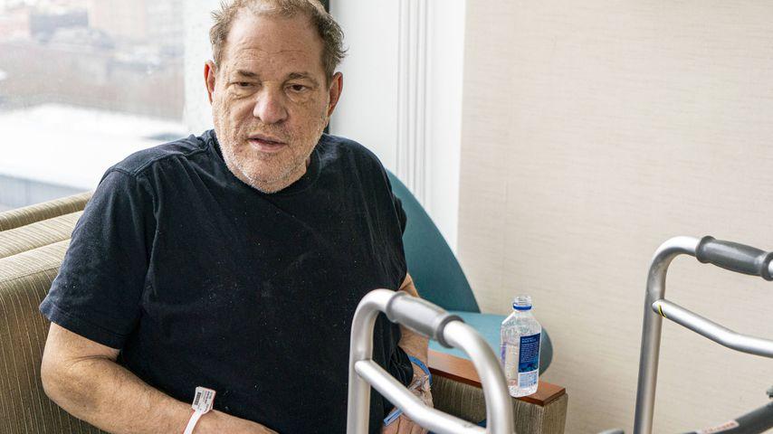Harvey Weinstein im Dezember 2019 in New York