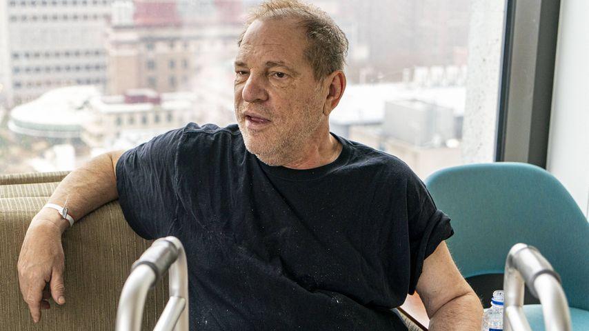 Anwalt sagt: Harvey Weinstein ist blind und verliert Zähne