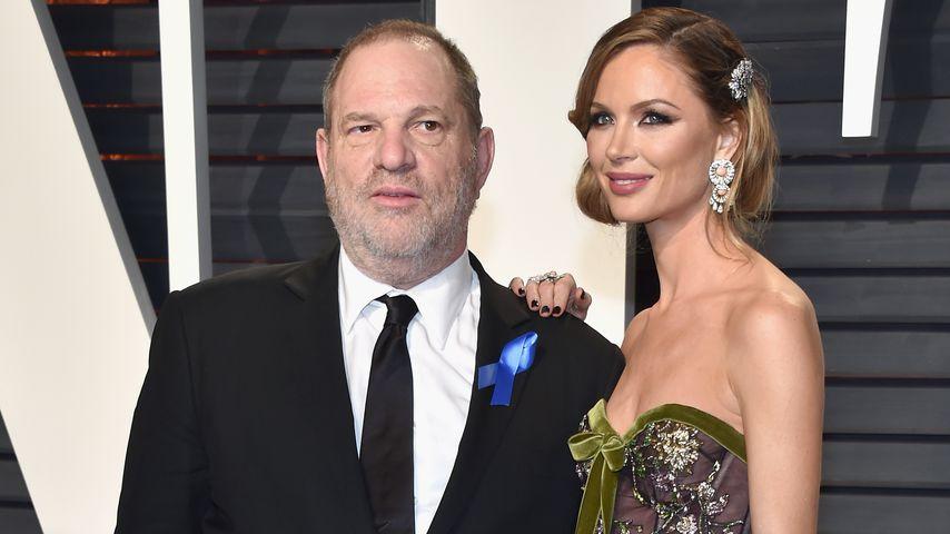 Harvey Weinstein und Georgina Chapman 2017