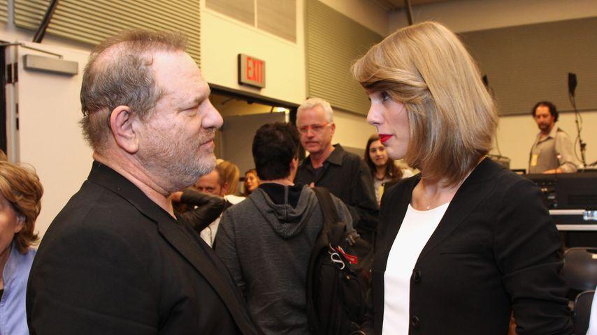 Harvey Weinstein und Taylor Swift im April 2014