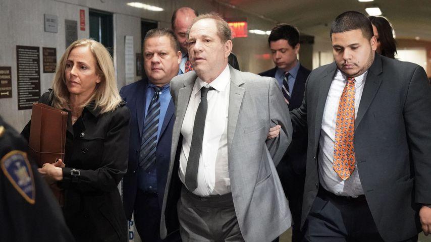 Harvey Weinstein vor dem Obersten Gerichtshof in NYC im Dezember 2019