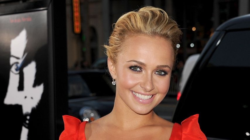 Hayden Panettiere im April 2011 in Hollywood