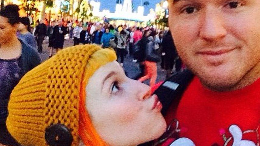 Hayley Williams und Chad Gilbert in Disney World