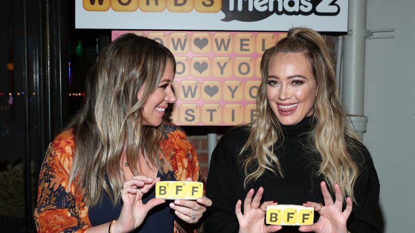 Haylie und Hilary Duff