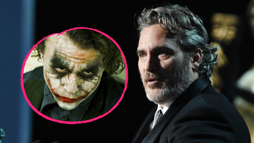 Gänsehaut: Joaquin Phoenix dankt Joker-Idol Heath Ledger!