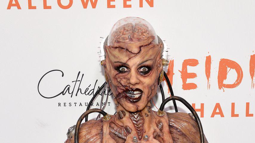 Wie aus Horror-Film: Das ist Heidi Klums Halloween-Outfit