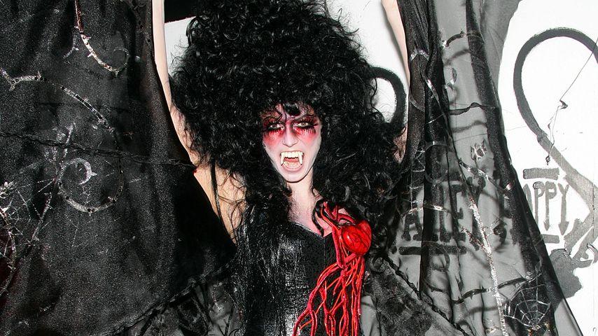 Heidi Klum auf ihrer Halloween-Party 2005