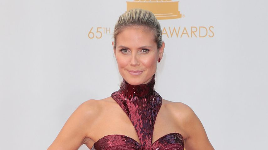 Heidi Klums Emmy-Dress 2013: Schön oder schaurig?