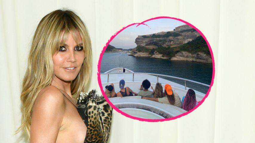 """Bonifacio"": Heidi Klum postet Familienpic aus dem Urlaub"