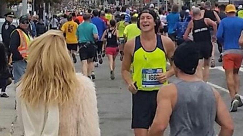 Süße Widmung: Vito Schnabel rennt Marathon für seine Oma
